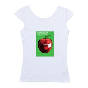 Reversible women's cap sleeve t-shirt