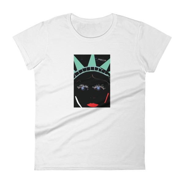2017 Women's short sleeve t-shirt